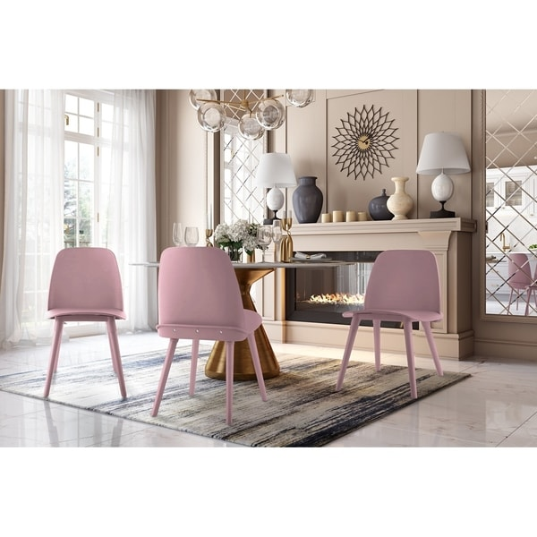 shop cosmo pink chair set of 2 ships to canada overstock ca rh overstock ca pink bean bag chair canada pink eiffel chair canada