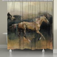 Laural Home Roaming the West Shower Curtain