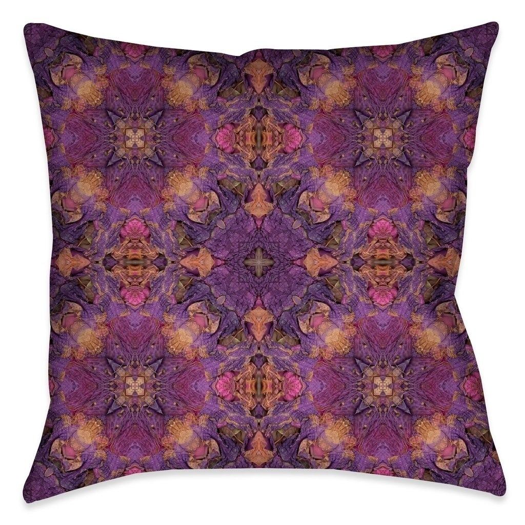 Laural Home Azalea Leaves Indoor Throw Pillow, Multi, Siz...