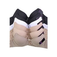Mamia 6-Pack Bras (Assorted Colors)