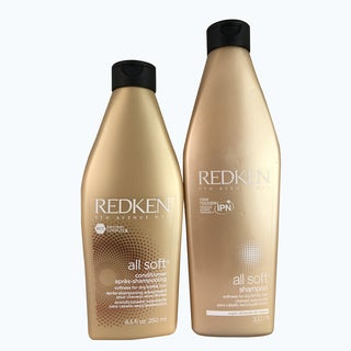 Redken All Soft 10.1-ounce Shampoo & 8.5-ounce Conditioner Duo