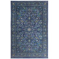 Gracewood Hollow Pivano Traditional Floral Area Rug - 10' x 14'