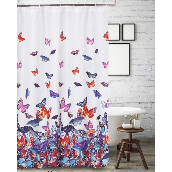 Shop Mariposa Shower Curtain On Sale Free Shipping On