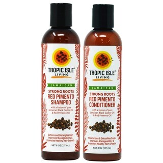 Tropic Isle Living Strong Roots with Red Pimento Shampoo and Conditioner Duo