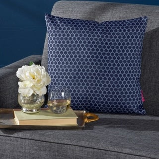 Danne Print Fabric Throw Pillow by Christopher Knight Home