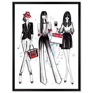 Oliver Gal 'Doll Memories - Shopping Spree 2' Framed Art