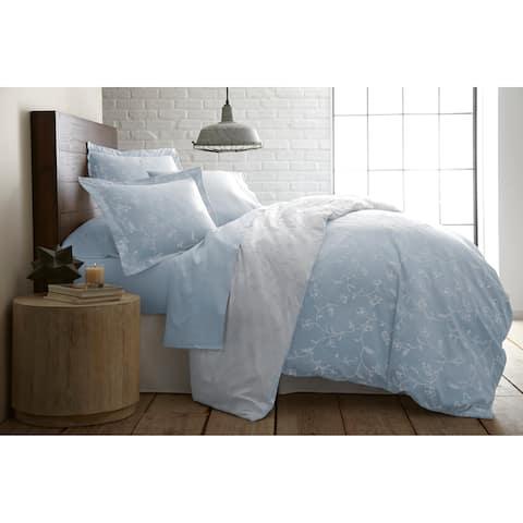 Boutique Chic Sweetbrier Reversible Cotton Comforter and Sham Set