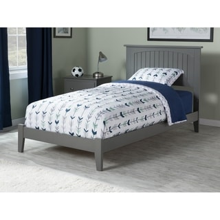 Nantucket Twin Traditional Bed in Atlantic Grey
