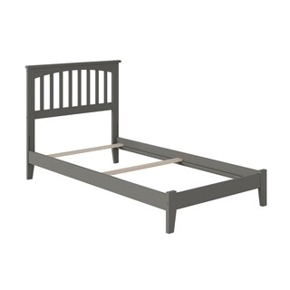 Mission Twin XL Traditional Bed In Atlantic Grey