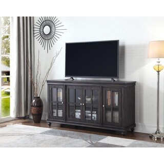 "Aptos 60"" Distressed Gray Media Console - 62 inches"