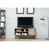 """Dresden 48"""" Antique Gray Media Console - 50 inches"""