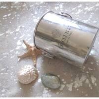 Pergamino Silver on White Cowhide Rug - metallic silver/white