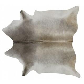 Pergamino Grey Palomino Cowhide Rug XL - N/A