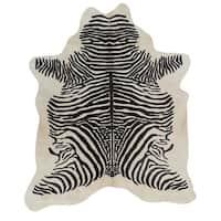 Pergamino Zebra Spine Cowhide Rug - 6' x 7'
