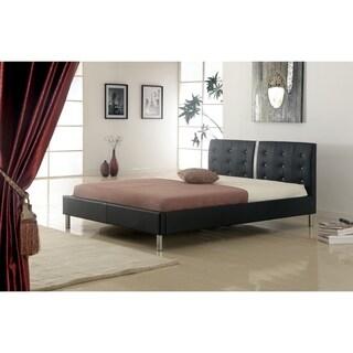 Best Master Furniture 120518 Platform Leather Bed