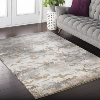 Acuna Twilight Collection Beige Area Rug (5' x 8')