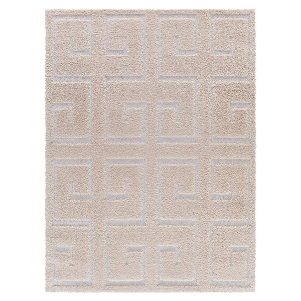 Mod-Arte Platinum Shag Collection, PS03 - 7'8x10'2
