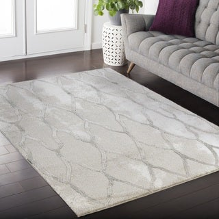 Aylin Twilight Collection Gray Area Rug (5' x 8')