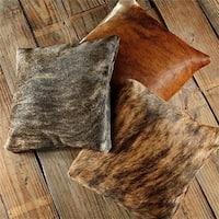 Pergamino Brindle Cowhide Pillows Case