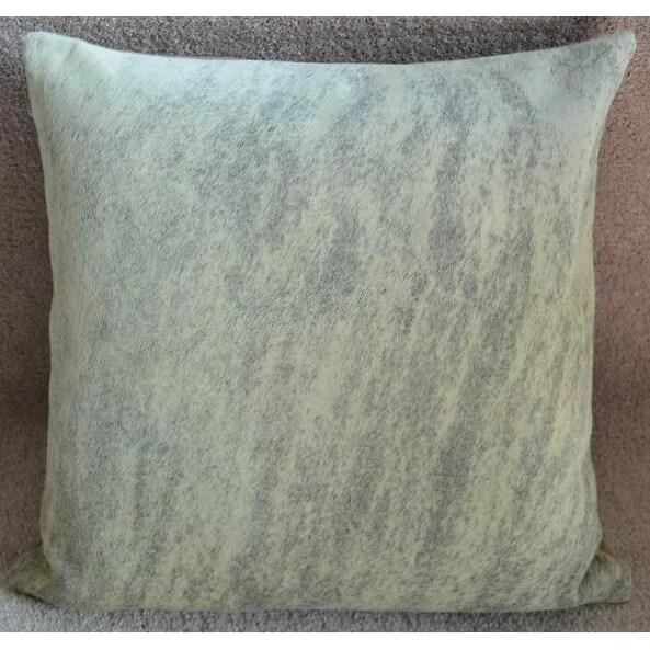 Pergamino Light Brindle Cowhide Pillows Case (Light Brown/Cream)