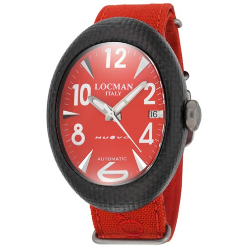 Locman Men's 101RDCRBQ Classic Watches (Classic Red), Bla...