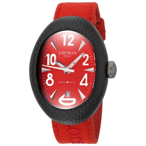Locman Men's 103RDCRBQ Classic Watches (Classic Red), Bla...