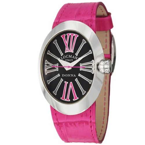 Locman Men's 410BKFX Classic Watches (Classic Black), Sil...