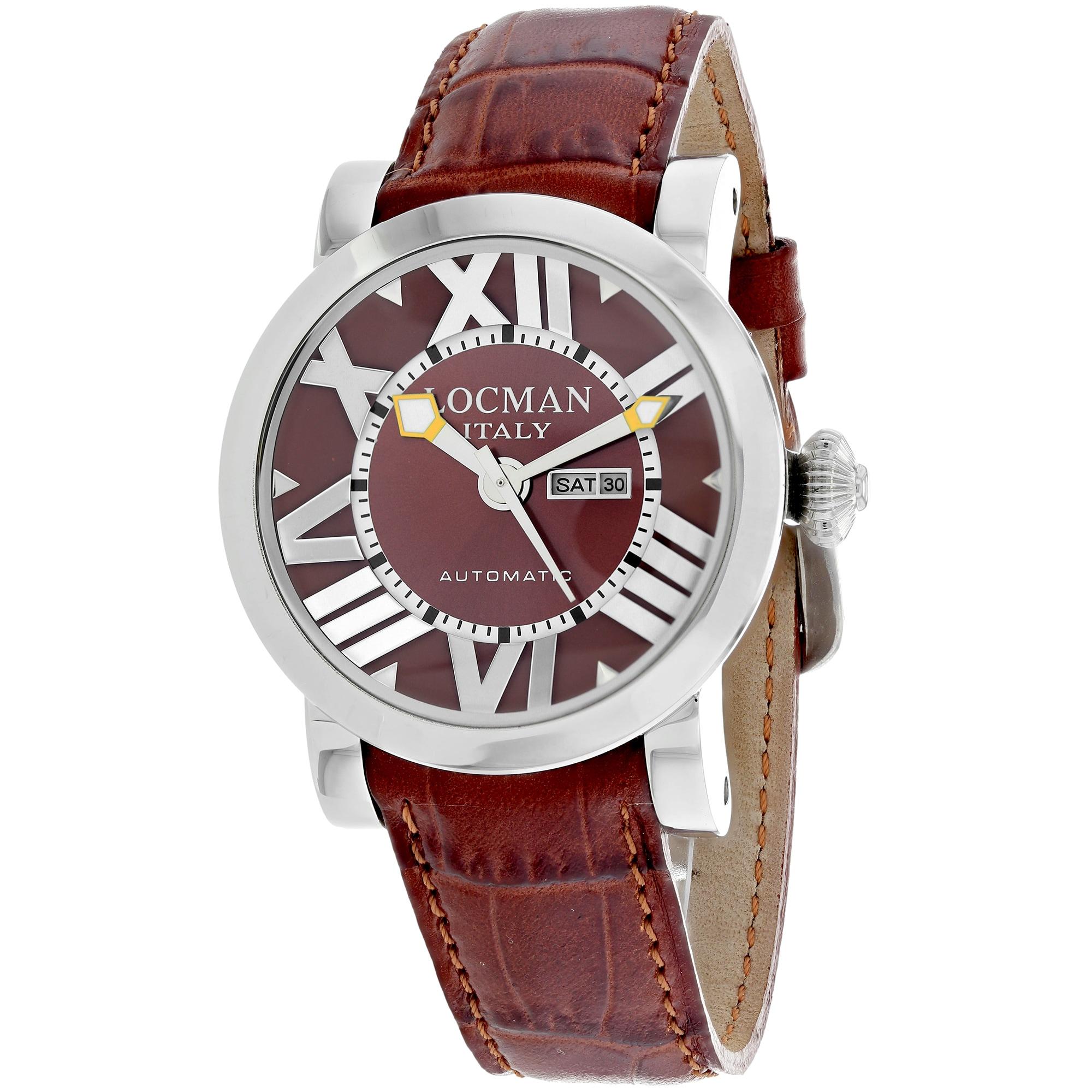 Locman Women's 293BR-Brleal Classic Watches (Classic Brow...