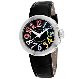 Locman Women's 340BKMULBK Tuttotondo Watches