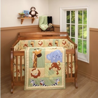 Little Bedding Safari Kids 3pc Bedding Set