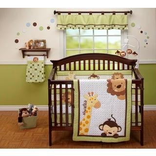 Little Bedding Jungle Pals 3pc Bedding Set