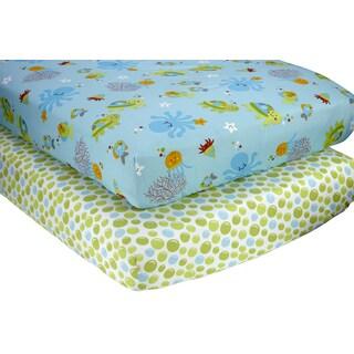 Little Bedding Ocean Dreams 2pk sheet set
