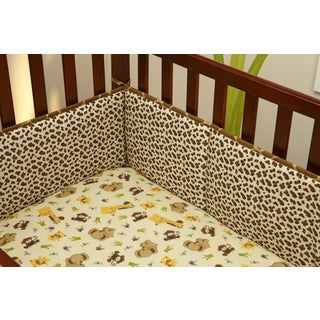 Little Bedding Jungle Dreams Traditional 4-sided bumper