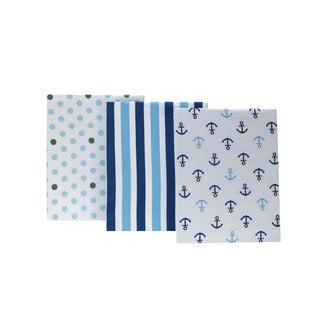 Little Bedding Splish Splash 3pk crib sheets