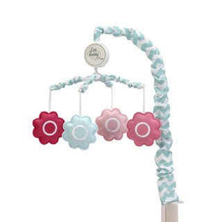Little Bedding Tickled Pink Musical Mobile