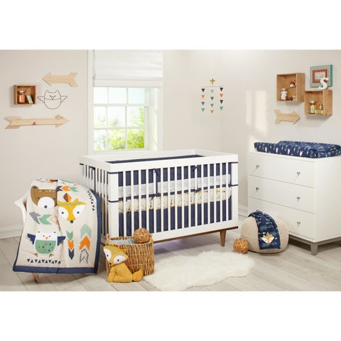 Nojo Little Love Aztec 5-piece Crib Bedding Set