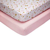 Little Love by NoJo She's So Lovely 2pk Crib Sheets
