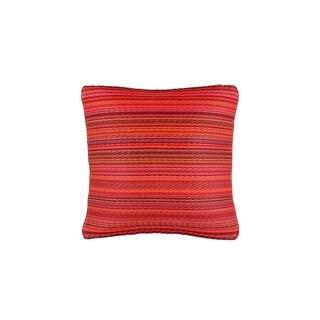 "Fab Habitat Cancun Sunset Outdoor Accent Pillow (16.5"" x 16.5"")"