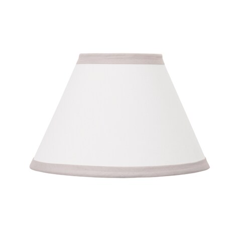 NoJo The Dreamer Collection Lamp Shade Grey/White