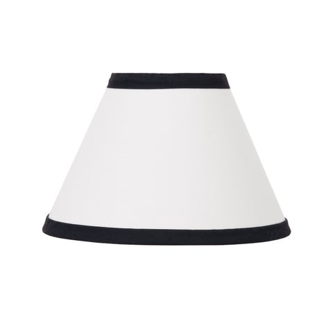 NoJo The Dreamer Collection Lamp Shade Black/White