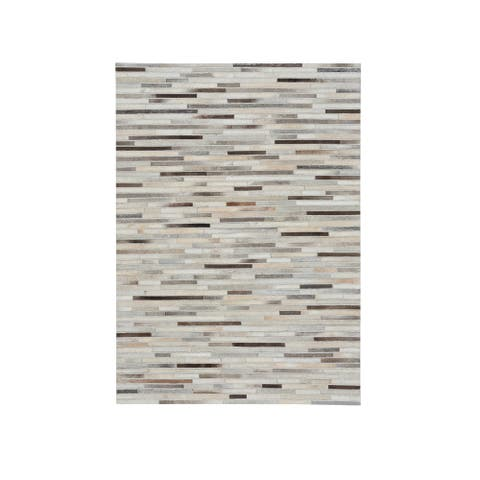 Capel Rugs Butte-Braided Stripe Casual Flat Woven Rugs