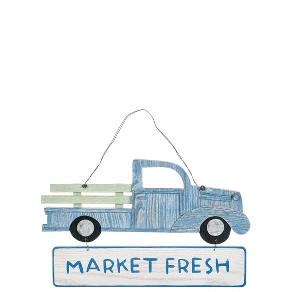 Market Fresh Truck Wall Decor