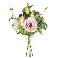 Rose, Berry, and Hydrangea Bouquet