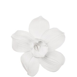 White Orchid Wall Decor