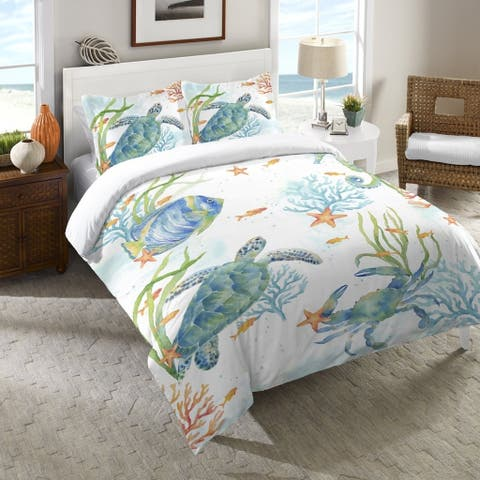 Laural Home Sealife Serenade Standard Pillow Sham