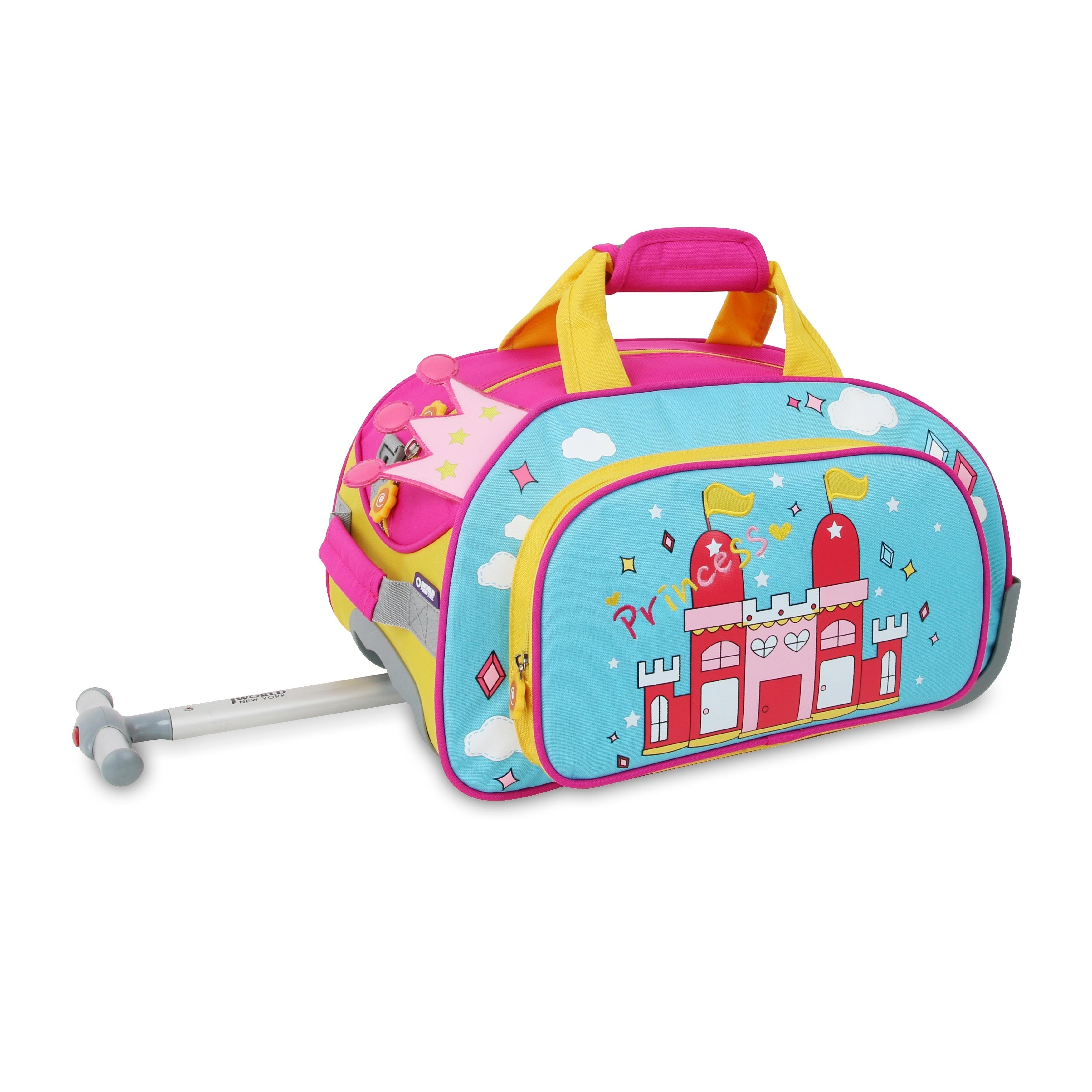 J World New York Kids Duffel Bag Princess Multi