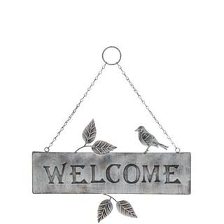 "Bird Welcome Sign - 16.25""l x.5""w x18""h"