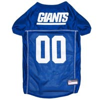 New York Giants Dog Jersey Extra Small