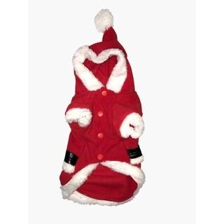 Santa Dog Costume Large
