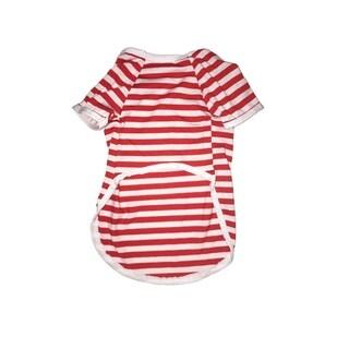 Striped Red Tee Medium